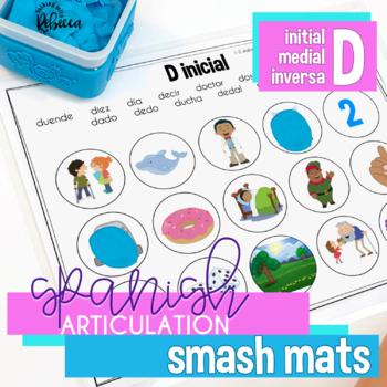 Spanish Speech Therapy Articulation D Smash Mats