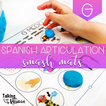 Spanish Speech Therapy Articulation G Smash Mats