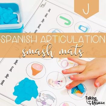 Spanish Speech Therapy Articulation J Smash Mats