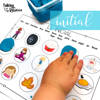 Spanish Speech Therapy Articulation LL and Y Smash Mats