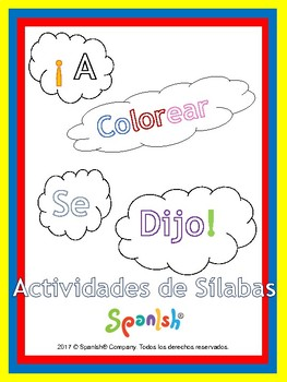 Syllable Segmentation & Awareness (Spanish Version)