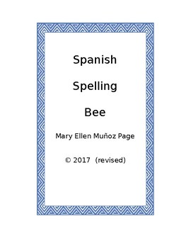 Spanish Spelling Bee (revised)