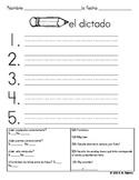 Spanish Spelling - El Dictado