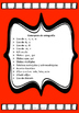 Spanish Spelling List Packet (Dual Language)