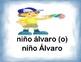 Spanish Spelling / Ortografia Upper & Lower Case - Level I