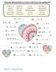 Spanish Spelling Worksheet Valentine's Day Crossword Much Fun