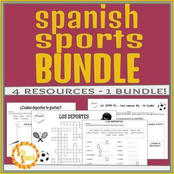 Los Deportes Sports BUNDLE