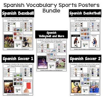 Spanish Sports Posters Bundle