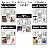Spanish Sports Posters Bundle