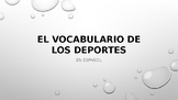 Spanish Sports Vocabulary - Comprehension PowerPoint - Any Level