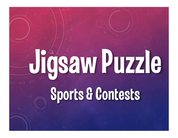 Spanish Sports and Contests Jigsaw Puzzle