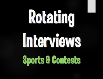 Spanish Sports and Contests Rotating Interviews