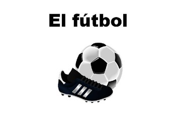Spanish Sports and Pastimes Vocabulary PICTURE Notes Powerpoint