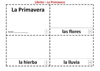 Spanish Spring - La Primavera 2 Booklets