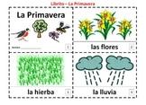 Spanish Spring Emergent Reader Booklets - La Primavera 2 Booklets