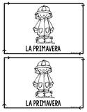 Spanish Spring Mini Book Reader (Primavera)