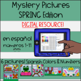 Digital Mystery Pictures Spanish Spring / Color By Number