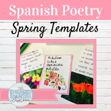 Spanish Spring Poetry Activities