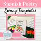 Spanish Spring Poetry Activities: Poesía para La Semana Sa
