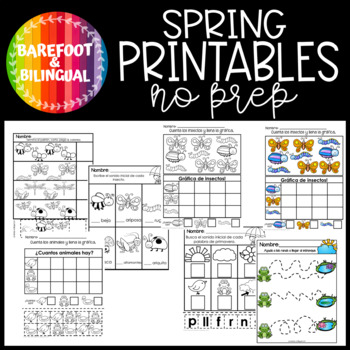 Spanish Spring Printables