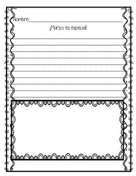 In Spanish / Spring Writing {Mis Narraciones de Primavera}