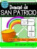 Spanish St. Patrick's day domino.