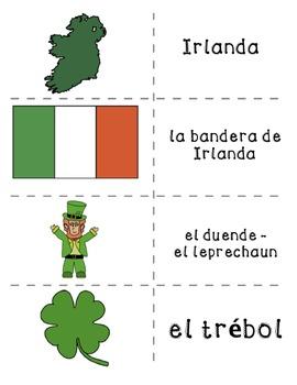 Spanish St. Patrick's Day Activities