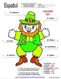 Spanish St. Patrick's Day Clothing Label the Leprechaun