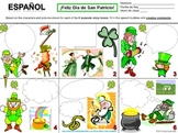 Spanish St. Patrick's Day Speech Bubble Creative Writing Activity