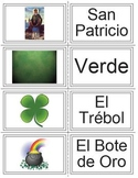 Spanish St. Patrick's Day Vocabulary and Flashcard Set