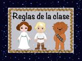 Spanish Star Wars Classroom Rules