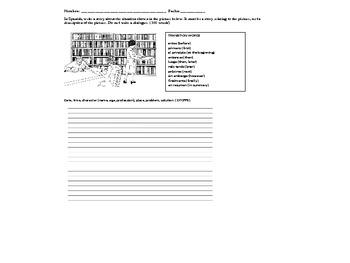 Spanish State Exam Writing Prep