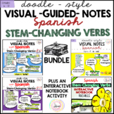 Spanish Distance Learning Stem-Changing Verbs BUNDLE