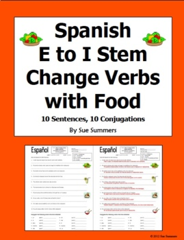 Spanish Stem Change Verbs Pedir and Servir Translations and Conjugations