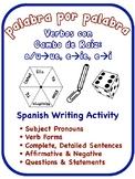 Spanish Stem-Change Verbs Writing Activities; u/o->ue, e->ie,  e->i (6 Versions)