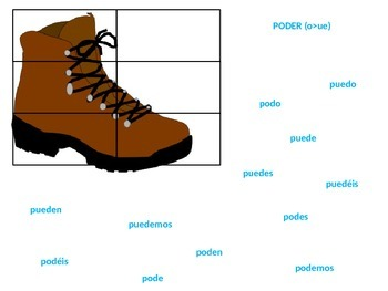Spanish Stem-Changer Boot Verb Practice PowerPoint