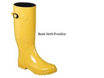 Spanish Stem-Changer Boot Verb Practice PowerPoint