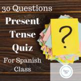 Spanish Stem Changing Present Tense Verbs Quiz En Espanol 2