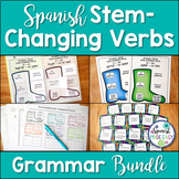 Spanish Stem Changing Verbs Grammar Bundle