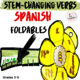 Spanish Interactive Notebook Stem-Changing Verbs