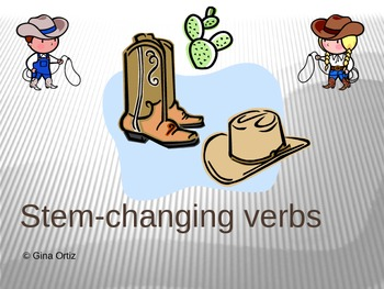Spanish Stem-Changing Verbs Power Point