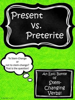 Spanish Stem-Changing Verbs: Present vs. Preterite