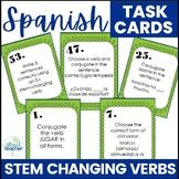 Stem Changing Verbs Spanish Task Cards