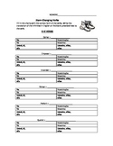 Spanish Stem-Changing Verbs Worksheet / Study Guide