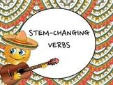 Spanish Stem-changing Verbs (E to IE, O to UE, & U to UE) Keynote Presentation