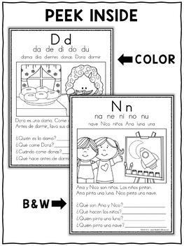 Spanish Reading Comprehension Passages - Set 1
