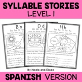 Spanish Syllable Stories 1