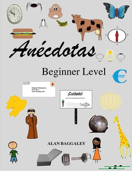 Spanish Stories and Activities-Beginner Level (TPRS or Reader)