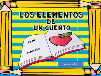 Spanish Story Elements/  Elementos de un cuento