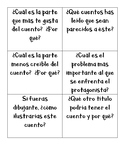 Spanish Story Group Question Cards